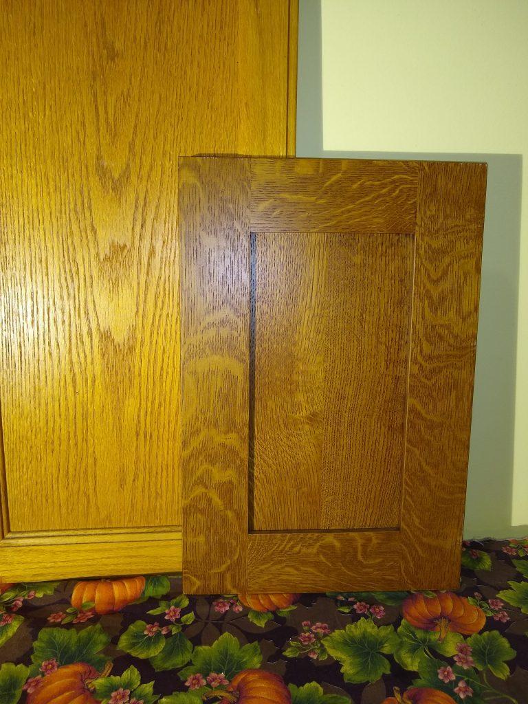 shaker wood door