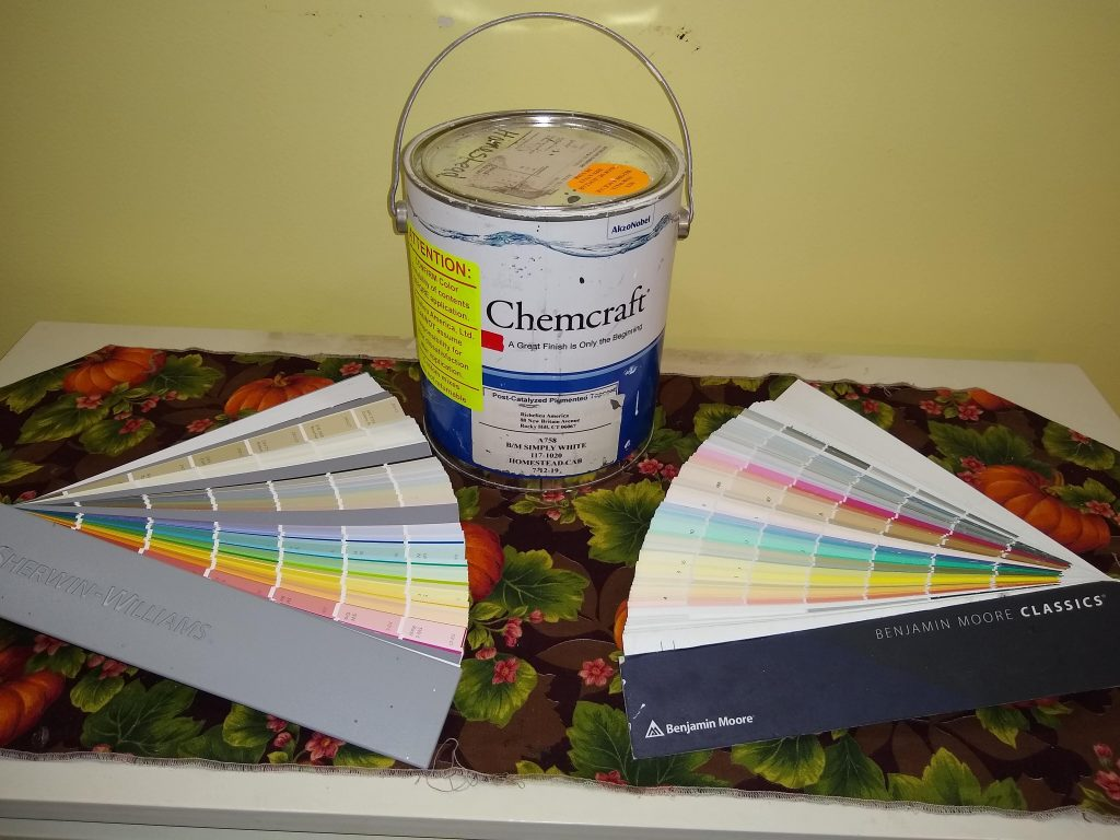 paint samples